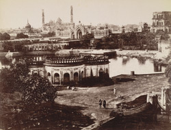 General view, Hoosainabad, Lucknow.